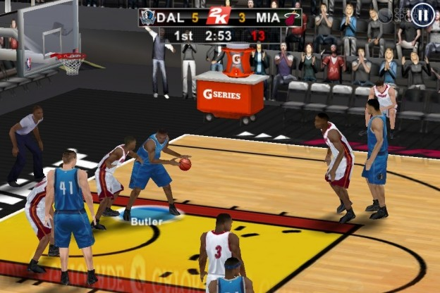 NBA 2K12 Screenshot #7 for iOS