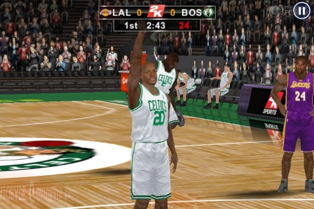 NBA 2K12 Screenshot #8 for iOS
