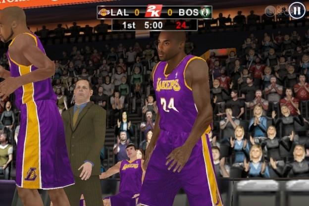NBA 2K12 Screenshot #10 for iOS