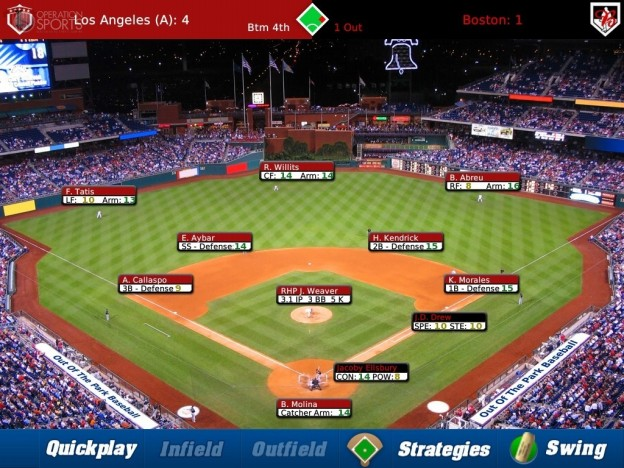 iOOTP Baseball 2011 HD Screenshot #4 for iPad