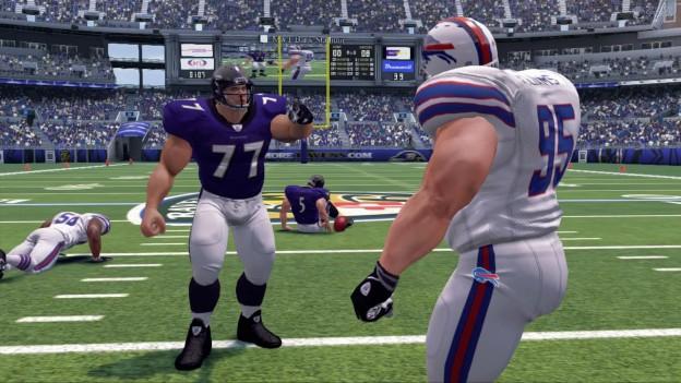 NFL Blitz Screenshot #4 for Xbox 360