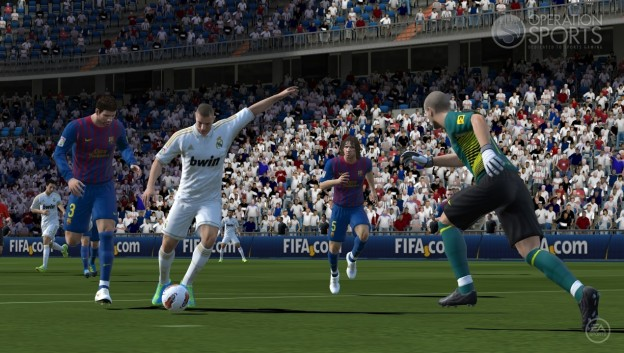 FIFA Soccer 12 Screenshot #1 for PS Vita
