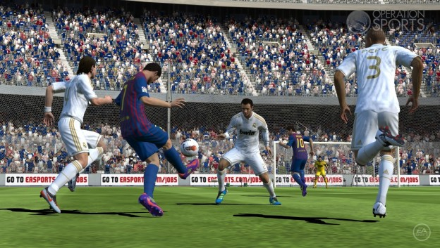 FIFA Soccer 12 Screenshot #7 for PS Vita