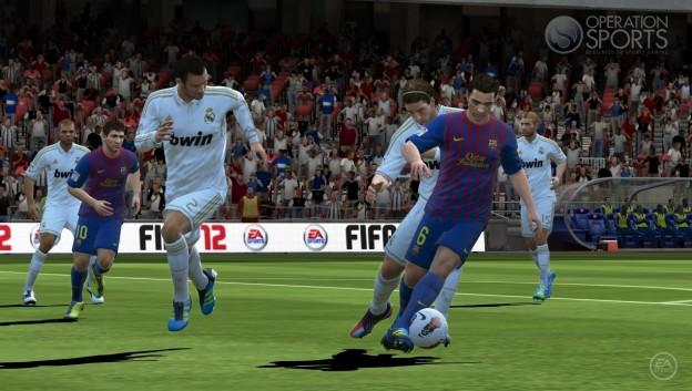 FIFA Soccer 12 Screenshot #8 for PS Vita