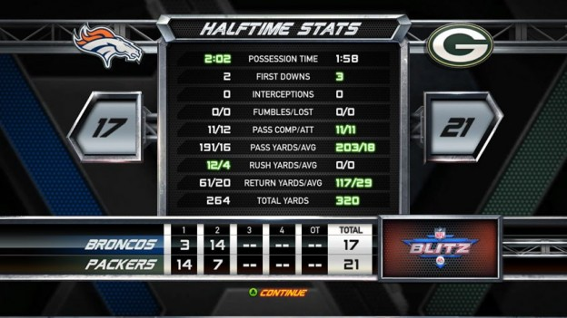 NFL Blitz Screenshot #9 for Xbox 360