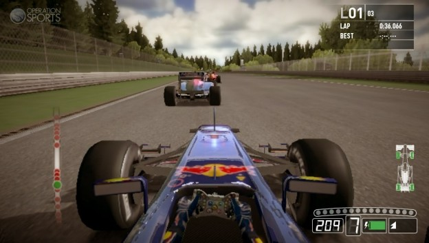 F1 2011 Screenshot #1 for PS Vita