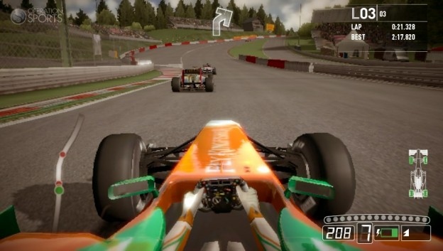 F1 2011 Screenshot #4 for PS Vita