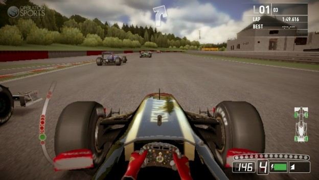 F1 2011 Screenshot #5 for PS Vita