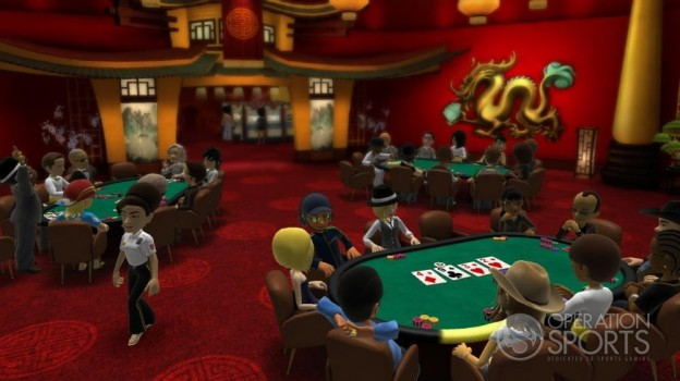 Full House Poker Screenshot #1 for Xbox 360