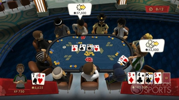 Full House Poker Screenshot #2 for Xbox 360