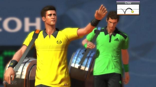 Virtua Tennis 4 Screenshot #2 for PS Vita