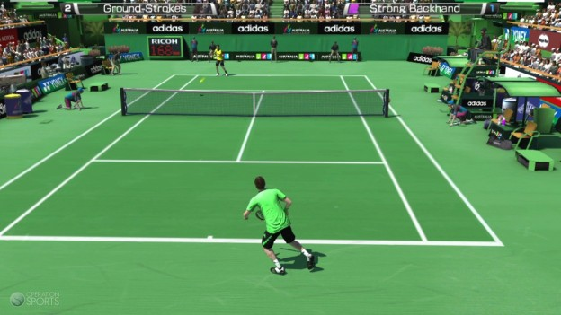 Virtua Tennis 4 Screenshot #9 for PS Vita
