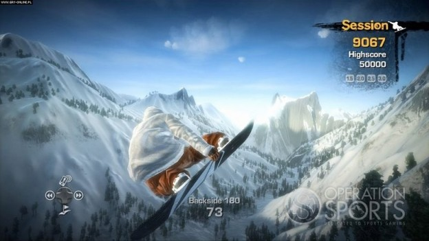 Stoked: Big Air Screenshot #1 for Xbox 360, PS3