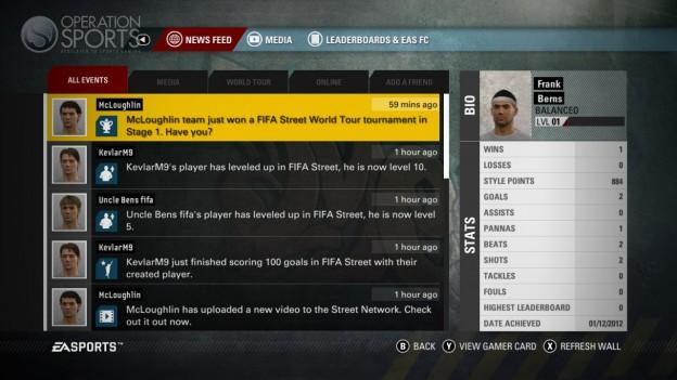 EA Sports FIFA Street Screenshot #36 for Xbox 360