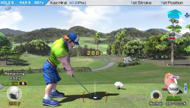 Hot Shots Golf: World Invitational Screenshot #3 for PS Vita