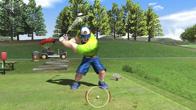 Hot Shots Golf: World Invitational Screenshot #4 for PS Vita