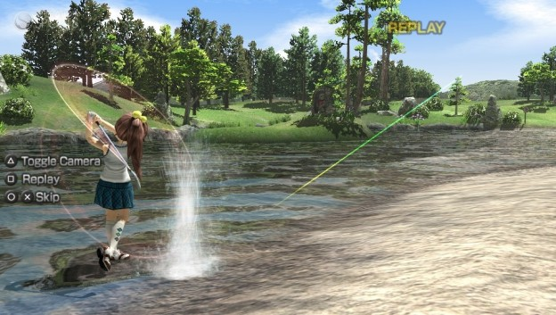 Hot Shots Golf: World Invitational Screenshot #5 for PS Vita