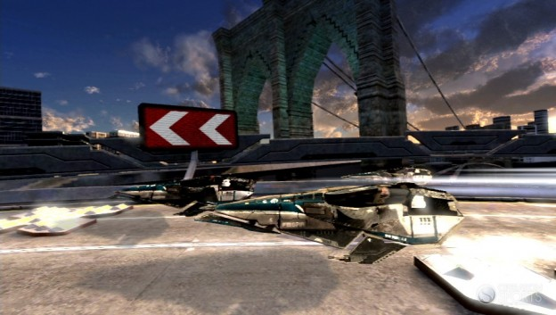 Wipeout 2048 Screenshot #1 for 3DS