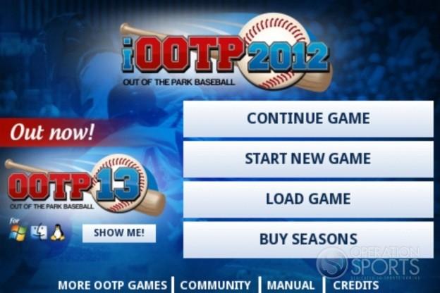 iOOTP 2012 Screenshot #3 for iPhone, iPad