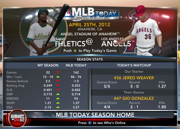 Major League Baseball 2K12  Screenshot #22 for Xbox 360