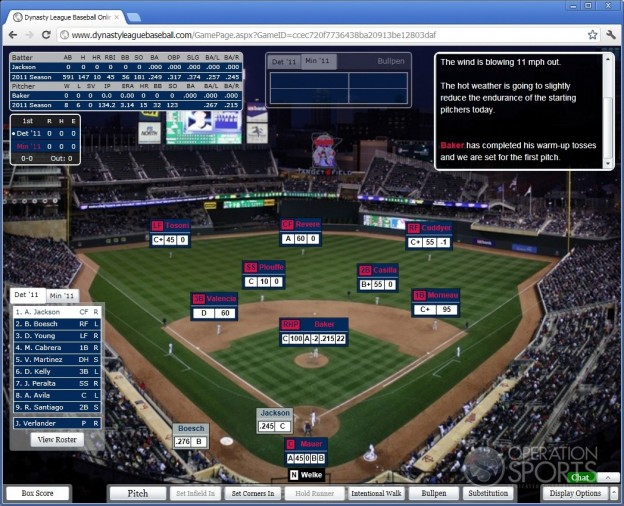 Dynasty League Baseball Online Screenshot #26 for PC