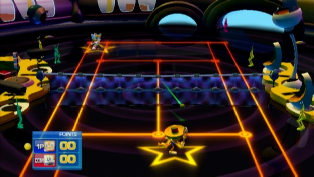 SEGA Superstars Tennis Screenshot #2 for Wii