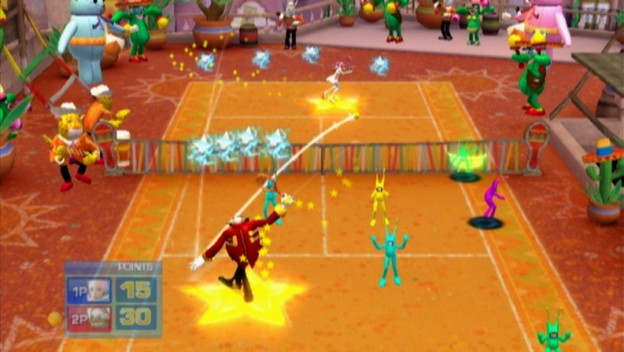 SEGA Superstars Tennis Screenshot #6 for Wii