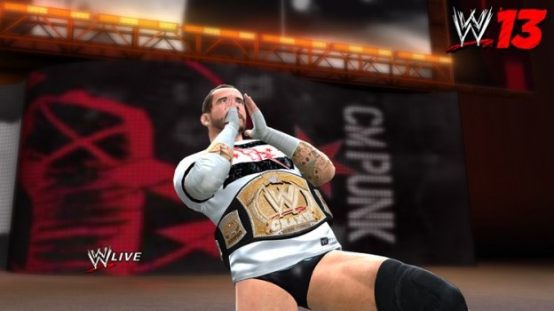 WWE 13 Screenshot #3 for PS3