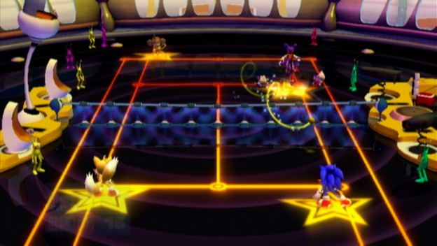 SEGA Superstars Tennis Screenshot #9 for Wii