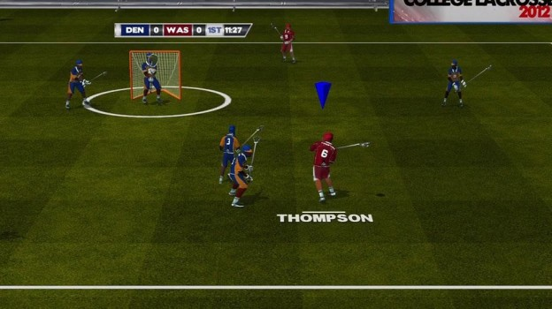 College Lacrosse 2012 Screenshot #2 for Xbox 360