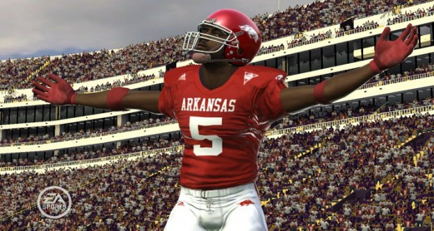 NCAA Football 09 Screenshot #2 for Xbox 360