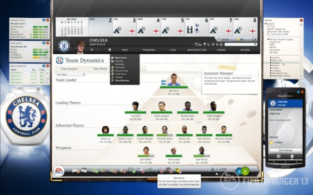 FIFA Manager 13 Screenshot #1 for PC