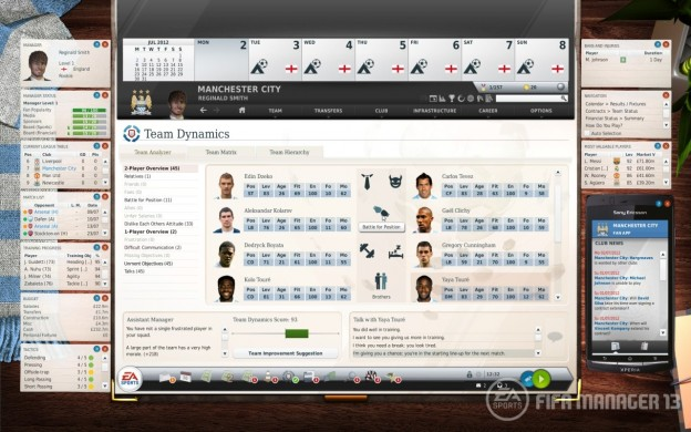 FIFA Manager 13 Screenshot #2 for PC