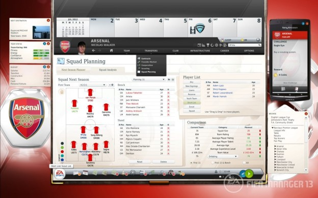 FIFA Manager 13 Screenshot #3 for PC