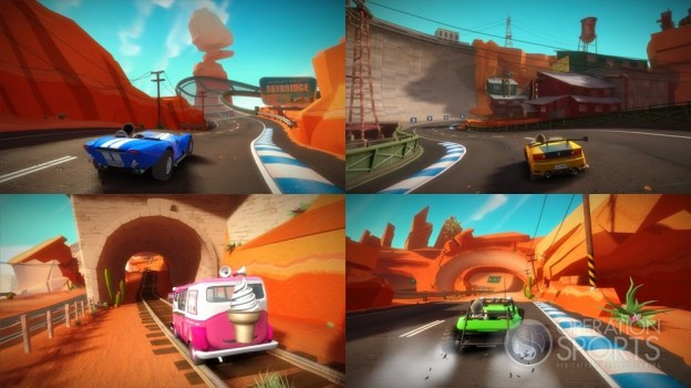 Joy Ride Turbo Screenshot #1 for Xbox 360