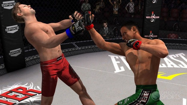 Bellator: MMA Onslaught Screenshot #2 for Xbox 360