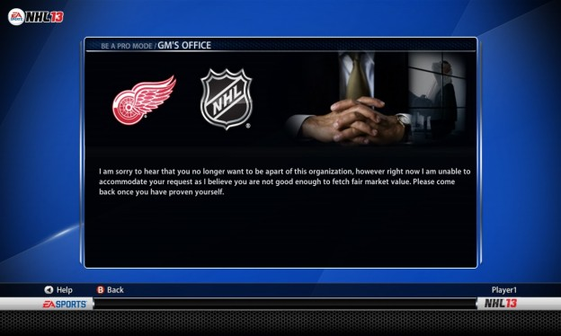NHL 13 Screenshot #153 for Xbox 360