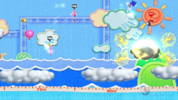 Mario & Sonic at the 2012 London Olympics Screenshot #1 for Wii