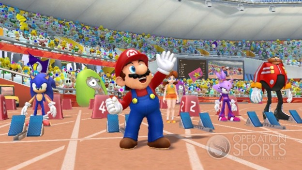 Mario & Sonic at the 2012 London Olympics Screenshot #5 for Wii