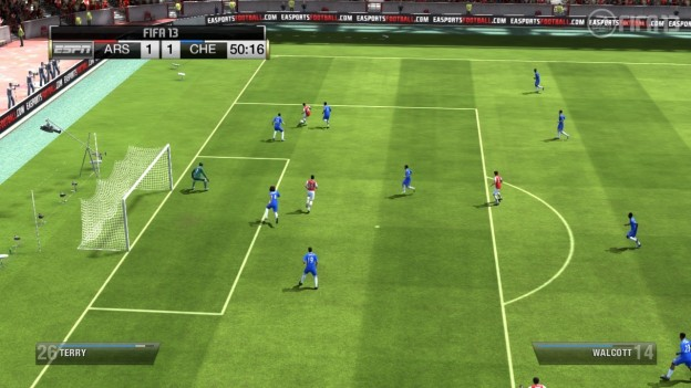 FIFA Soccer 13 Screenshot #4 for Wii U