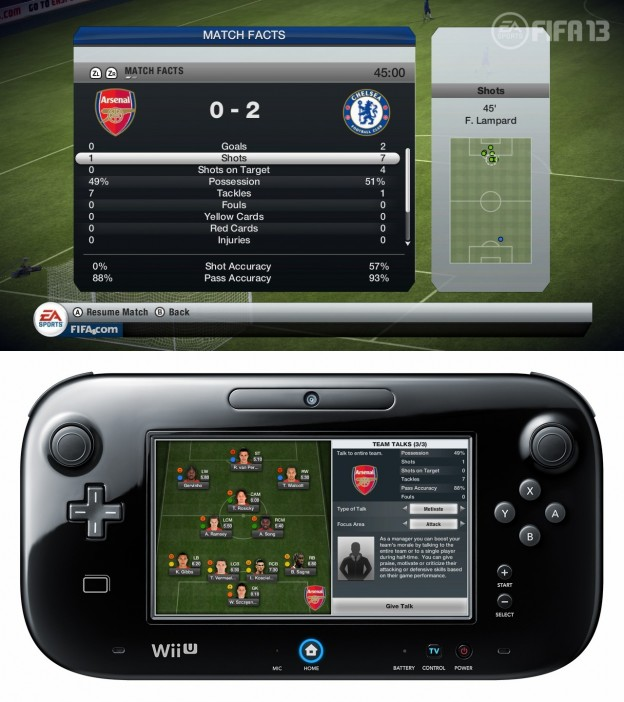 FIFA Soccer 13 Screenshot #7 for Wii U