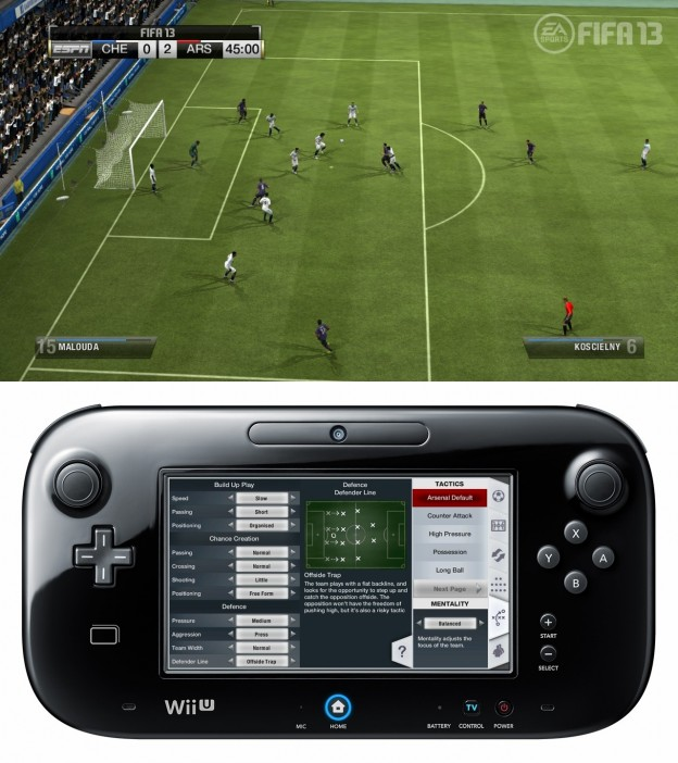 FIFA Soccer 13 Screenshot #9 for Wii U