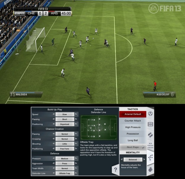 FIFA Soccer 13 Screenshot #10 for Wii U