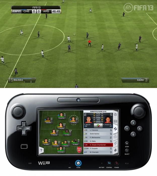 FIFA Soccer 13 Screenshot #11 for Wii U