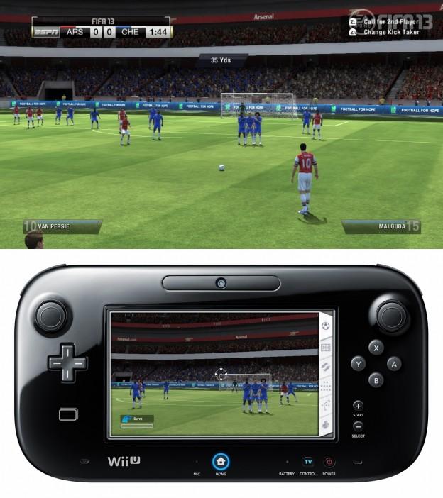 FIFA Soccer 13 Screenshot #15 for Wii U