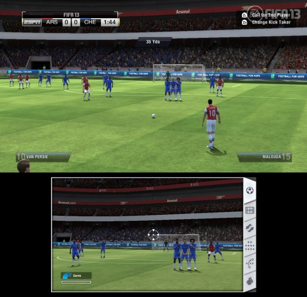 FIFA Soccer 13 Screenshot #16 for Wii U