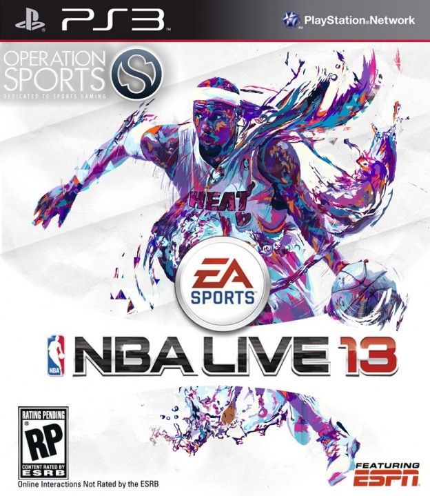 NBA Live 13 Screenshot #1 for PS3