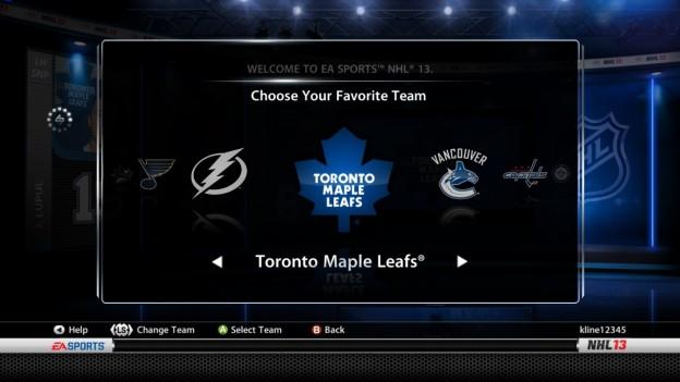 NHL 13 Screenshot #163 for Xbox 360