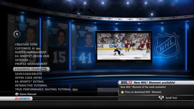 NHL 13 Screenshot #164 for Xbox 360