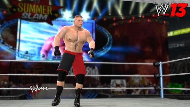 WWE 13 Screenshot #17 for Xbox 360